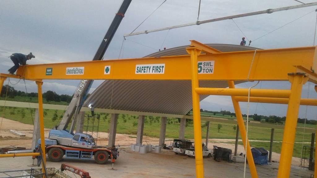 ขายรอก เครนรอกไฟฟ้า เครนยกของ overhead crane รอกมือสอง อุปกรณ์รอก บริการออกแบบ และจัดส่งทั่วประเทศ