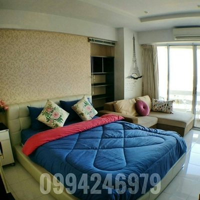 For rent Evergreen View Condo Studio, Fully furnished , Near Airport, Mega Bangna