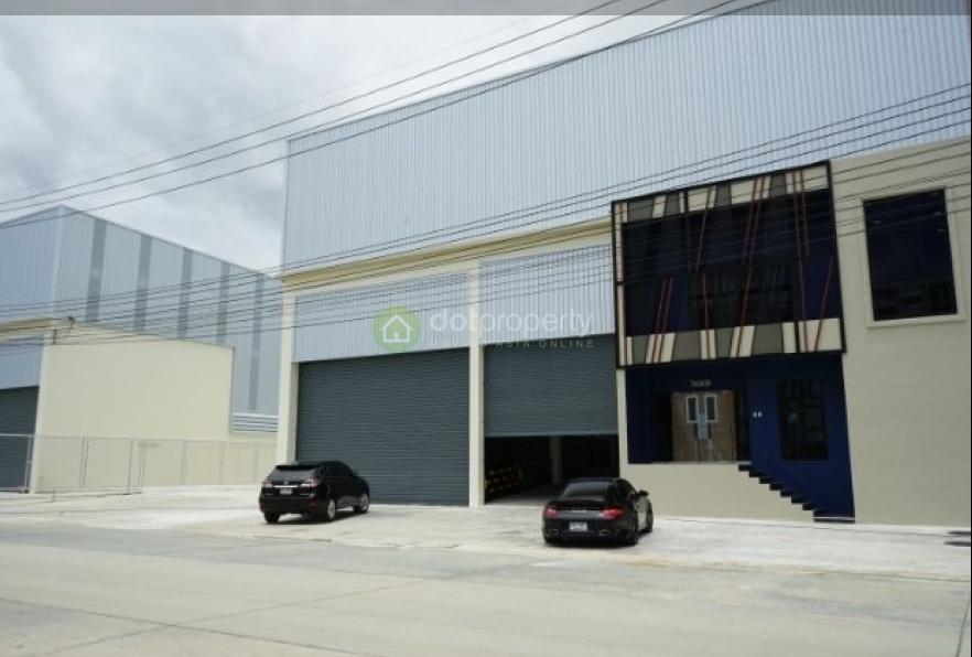 โรงงานพร้อมออฟฟิศสำนักงานให้เช่า พื้นที่ 2,071 ตรม. ถ.เทพารักษ์ กม.19