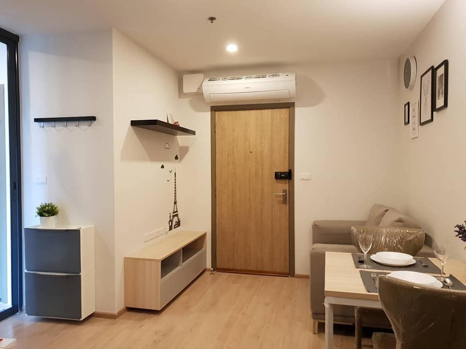 ให้เช่าคอนโด IDEO O2 (ไอดีโอ โอทู บางนา) Studio 27ตรม Fully Furnished พร้อมเครื่องซักผ้าในห้อง
