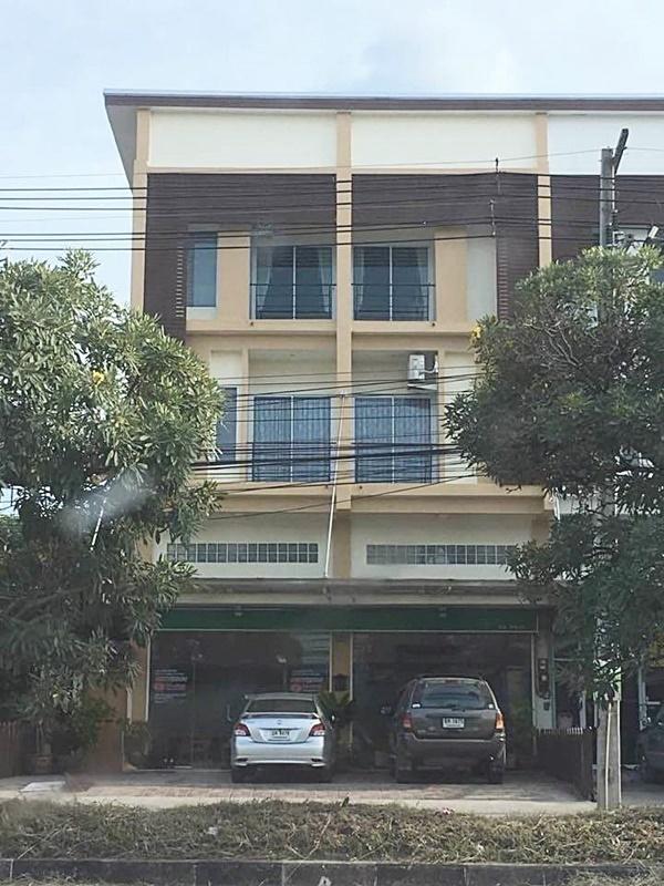 อาคารพาณิชย์ 2 คูหา 4 ชั้น ตำบลหนองกะขะ เขตพานทอง ชลบุรี 52 ตร.ว