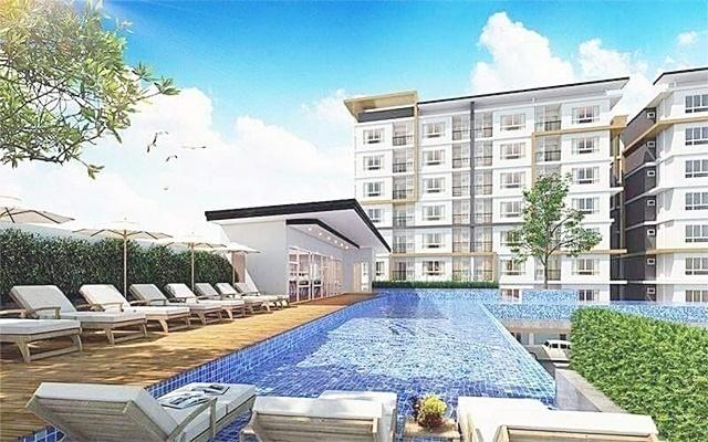 คอนโด Mornington Grand Residence มอนิงตั้น แกรนด์ เรสซิเดนซ์ ตำบลแสนสุข เมืองชลบุรี ชลบุรี 43.4 ตรม.