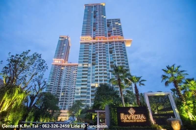 ให้เช่า เดอะ ริเวียร่า วงศ์อมาตย์ บีช / For rent The Riviera Wong Amat Beach