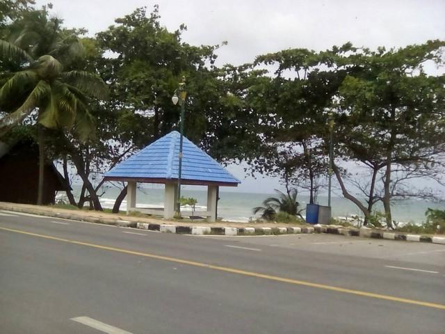 ขายที่ดินติดทะเล หาดสุชาดา ตำบลเนินพระ อำเภอเมืองระยอง จังหวัดระยอง เนื้อที่ 12-3-43.2 ไร่