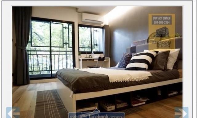 ขายอพาร์ทเมนท์ใหม่รัชดา 36  ปัจจุบันเต็ม 100%  ดีไซน์โมเดิร์น มีแบรนด์ Bedroom Studio จตุจักร กทม
