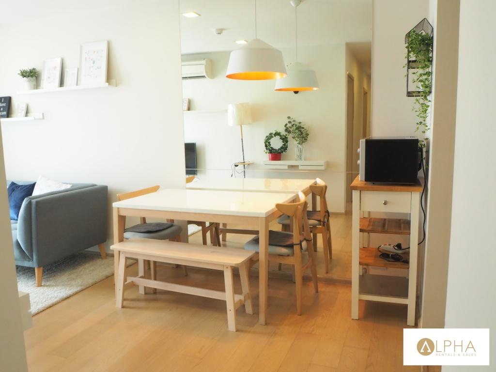 Condo 2 bedroom for rent LIV@49 near BTS