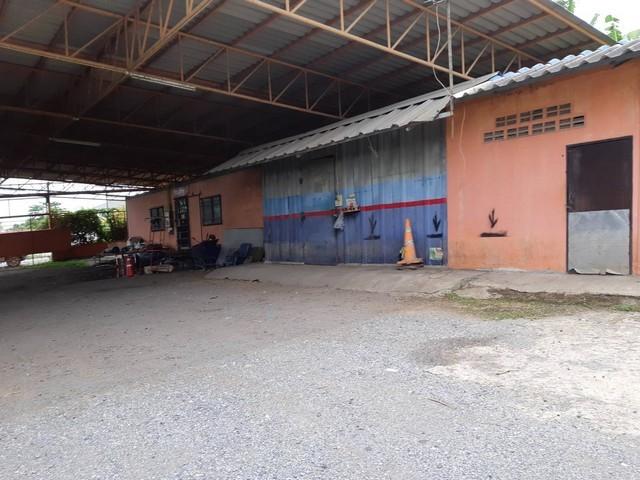 ขายอู่ซ่อมรถ 6 ไร่ 2 งาน อ.สามโคก  จ.ปทุมธานี  (ราคาต่อรองได้)