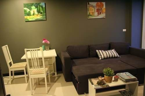 Room for rent Voque Sukhumvit 16 23000THB 1km from BTS Asok ref-dha180845