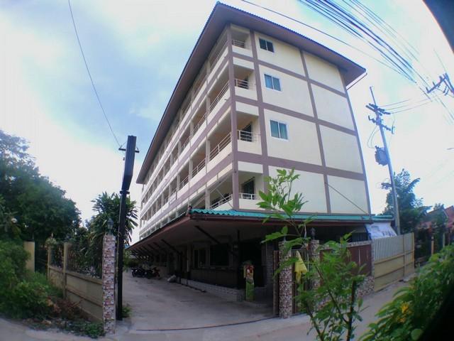 ขายอพาร์ทเม้นท์พัทยา  5 ชั้นเนื้อที่ 1 ไร่ 45 ห้อง ห่างถนนสุขุมวิท 200 เมตร