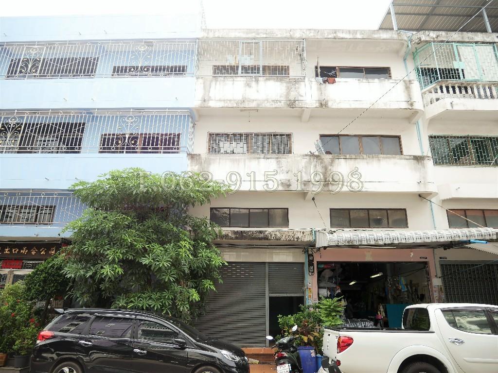ขายอาคารพาณิชย์ 3 ชั้นครึ่ง มบ.มั่งมีศรีสุข พระราม2 สะแกงาม35/3 เนื้อที่ 20 ตรว. ต่อเติมเต็ม ถนนเมน ค้าขายได้