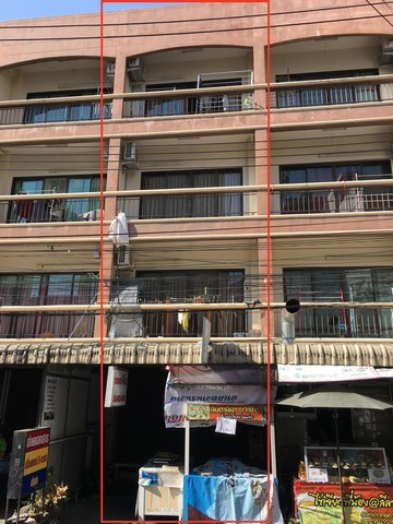 อพาร์ทเม้น 4 ชั้น หลัง ม.บูรพา ซอยลีลา ซื้อไว้เก็บค่าเช่า