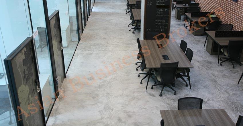 0123017 พื้นที่สำนักงานให้เช่า ที่ถนนพระราม 4