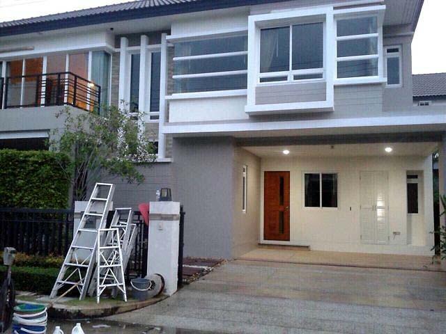 บ้านเดี่ยว 2ชั้น โครงการ บางกอก บูเลอวาร์ด รามอินทรา Bangkok Boulevard Ramintra