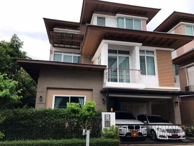 บ้านเดี่ยว 3ชั้น หลังมุม โครงการ เดอะ ไพรมารี่ เพรสทีจ The Primary Prestige รัชดา-รามอินทรา