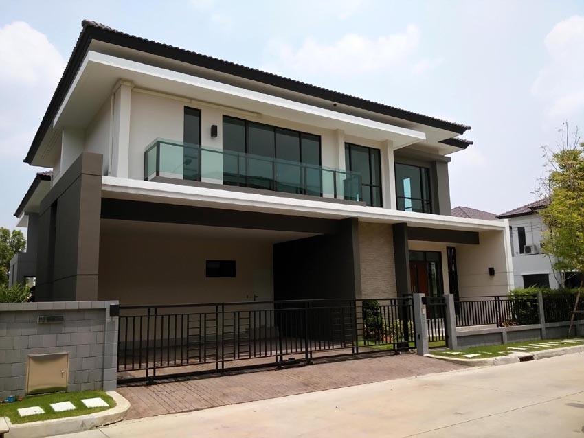 บ้านเดี่ยว 2ชั้น หลังมุม เดอะซิตี้ พัฒนาการ The City Pattanakarn บ้านใหม่