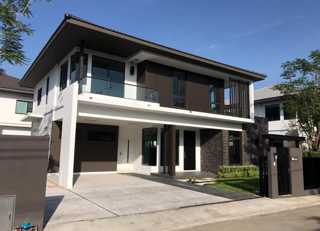 บ้านเดี่ยว2ชั้น มัณฑนา บางนา กม.7  บ้านใหม่