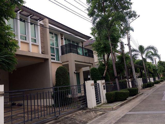 บ้านเดี่ยว 2ชั้น  บางกอก บูเลอวาร์ด2  รัชดา-รามอินทรา  Bangkok Boulevard2  Ratchada-Rarm Intra