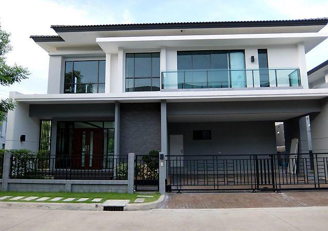 บ้านเดี่ยว หลังมุม เดอะซิตี้ พัฒนาการ The City Pattanakarn ตกแต่งพร้อมเข้าอยู่