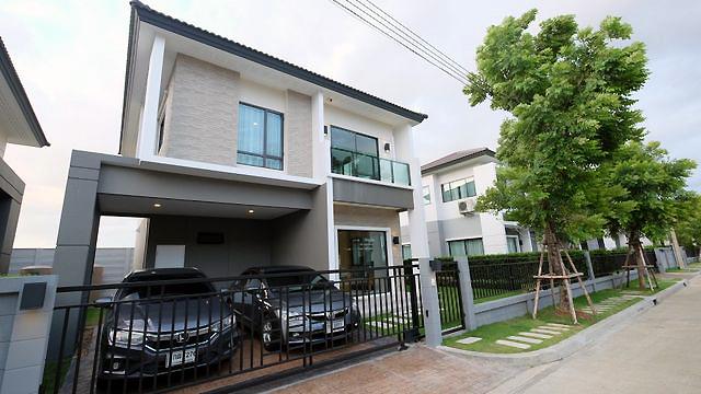 บ้านเดี่ยว เดอะซิตี้ พัฒนาการ The City Pattanakarn ตกแต่งพร้อมเข้าอยู่
