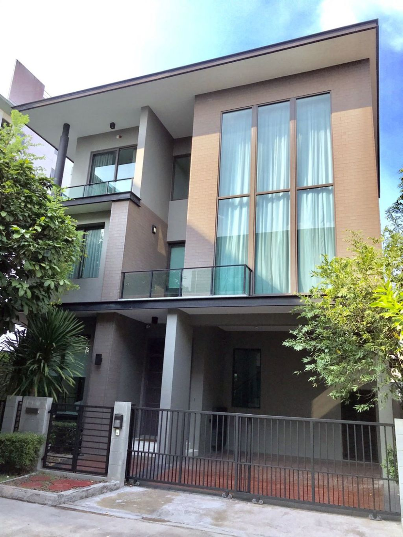 บ้านเดี่ยว 3ชั้น โซล เอกมัย-ลาดพร้าว  Soul Ekamai-Ladprao