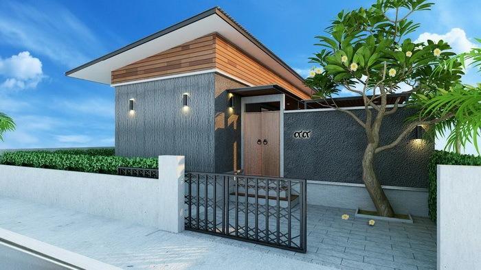 ขายบ้านเดี่ยว  โครงการ Breeze Privacy Private Pool Villa Cha-Am สระว่ายน้ำส่วนตัว
