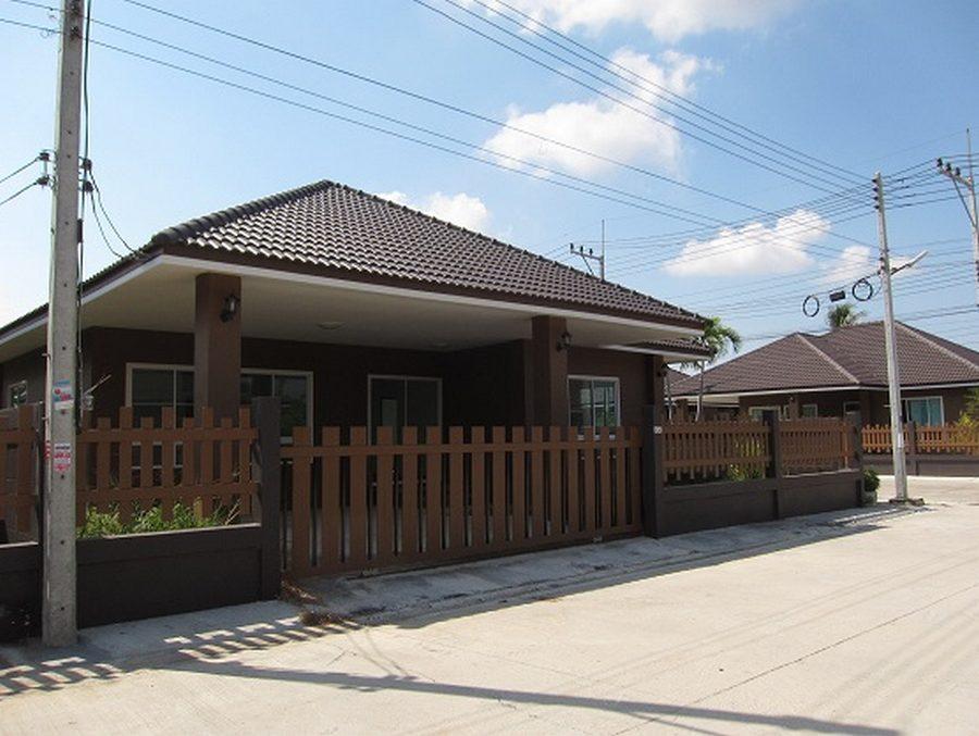บ้านเดี่ยวหัวหิน ใกล้หาดเขาเต่า บ้านรัก หัวหิน-ปราณบุรี (64ตร.วา/3นอน) ใกล้อุทยานราชภักดิ์ หลังมุม บ้านใหม่พร้อมอยู่