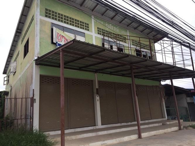 3A5MG0214 ให้เช่าอาคารพาณิชย์ 2 ชั้น 1 ห้องนอน 1 ห้องน้ำ พื้นที่ 20 ตรว. ใกล้โรงเรียนบุญวัฒนา ราคาเช่าเดือนละ 15,000 บาท