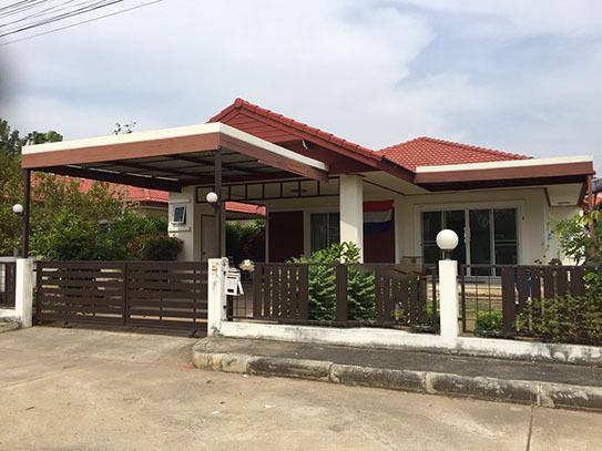 3A2MG0597 ให้เช่าบ้านเดี่ยวชั้นเดียว 3 ห้องนอน 2 ห้องน้ำ ราคาเช่าเดือนละ 7,000 บาท พื้นที่ 50 ตร.ว.