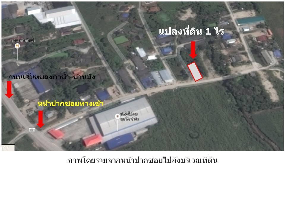 ให้เช่าที่ดิน 1 ไร่ ซอยไร่ชานเมือง อ.บ้านบึง จ.ชลบุรี รูปที่ 9