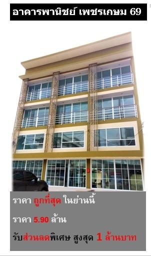 ขายอาคารพาณิชย์ ทำเลดีมาก 3 ชั้นครึ่ง ติดถนนใหญ๋ คูหาละ 5.9 ล้าน ราคาคุ้มค่าที่สุด ให้ที่ดินเยอะที่สุด วัสดุตกแต่งหรูที่สุด ค้าขายได้ อยู่อาศัย