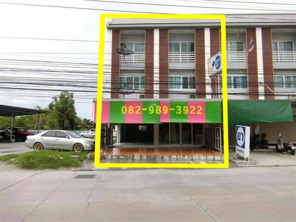ขาย อาคารพาณิชย์ 3 ชั้น ห้องริม   2 คูหา ทำเลดี จ.ชลบุรี ราคาไม่แพง !!
