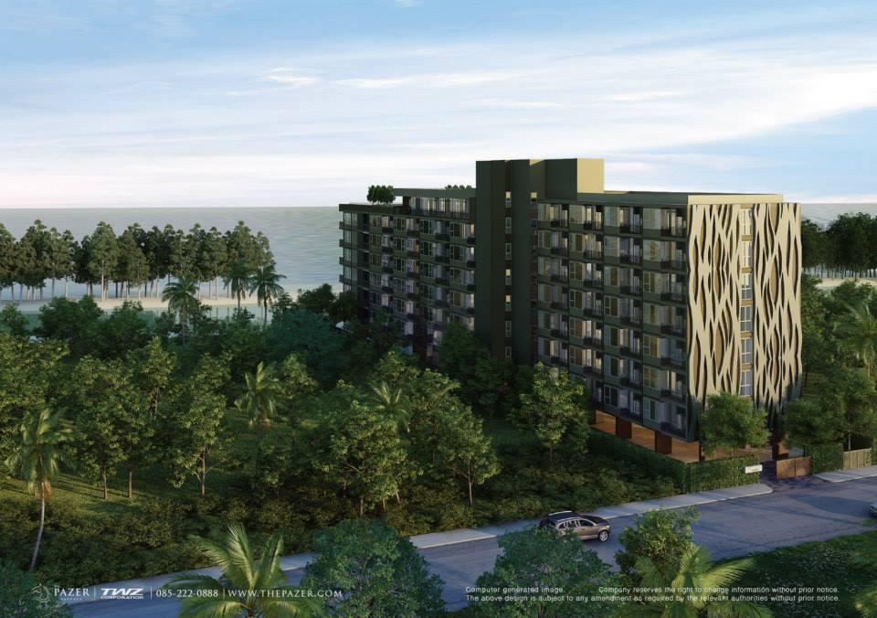 ขายคอนโดมิเนียมติดหาดจอมเทียน The Pazer Pattaya(เดอะเพเซอร์พัทยา) รูปที่ 1