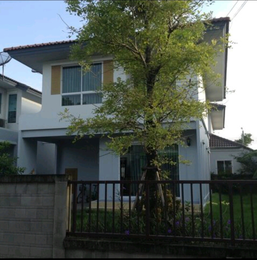 ขายบ้านแฝด 48.9 ตรว.ติดถนน เทพารักษ์ โครงการ Q House