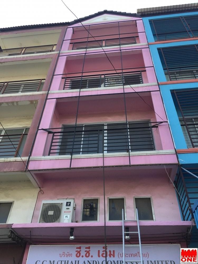 ขาย อาคารพาณิชย์ 4.5 ชั้น  สภาพใหม่-ทำเลค้าขาย  สามแยกบางศรีเมือง (ใกล้ตลาดชวพงศ์)  ตำบลบางกร่าง (บางศรีเมือง) อำเภอเมืองนนทบุรี จังหวัดนนทบุรี