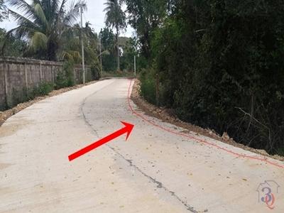 ขายที่ดิน สามร้อยยอด ติดถนนคอนกรีต ใกล้เคียงเป็นรีสอร์ท ห่างทะเลปราณ 300 เมตร