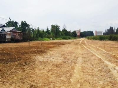 ขายที่ดิน ถมแล้ว ใกล้สนามบินสุวรรณภูมิ กิ่งแก้ว 19-1 บางพลี ห่างถนนใหญ่ 300 เมตร