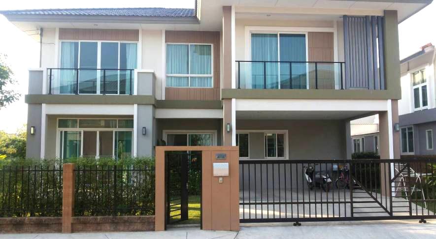 บ้านเดี่ยว 2ชั้น หลังมุม โครงการ เดอะแพลนท์ พัฒนาการ38 The Plant Pattanakan
