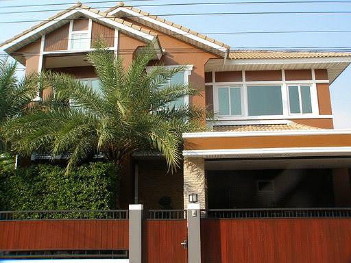 บ้านเดี่ยว 2ชั้น โครงการ หมู่บ้าน เพอร์เฟคเพลส Perfect Place  สุขุมวิท77- สุวรรณภูมิ