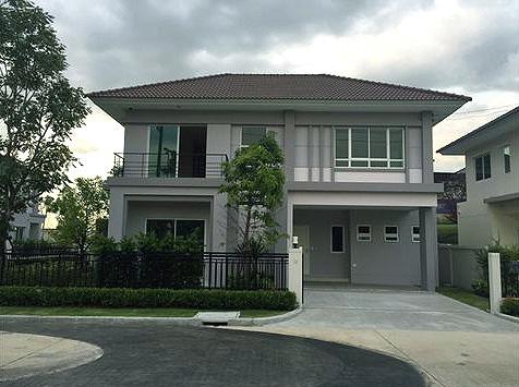 บ้านเดี่ยว 2ชั้น หลังมุม โครงการ ไลฟ์ บางกอก บูเลอวาร์ด Life Bangkok Boulevard  พระราม9 - วงแหวน