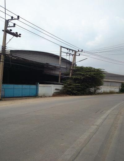 ขายโรงงาน-โกดังใหญ่ 3ไร่เศษ ถนนเพชรเกษม ย่านสาย4
