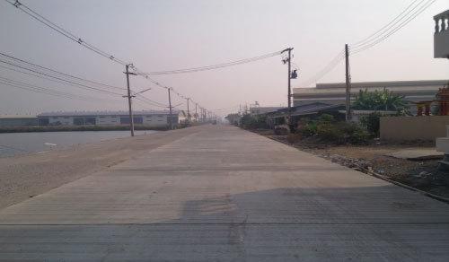 ที่ดินสร้างโรงงาน-โกดัง 50 ไร่ แบ่งขายได้ อยู่ ถนนพระราม2 เขตอุตสาหกรรม
